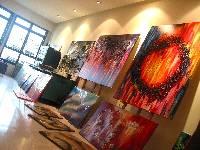 www.YinArt.com, Artist YIN LUM's art studio in Singapore